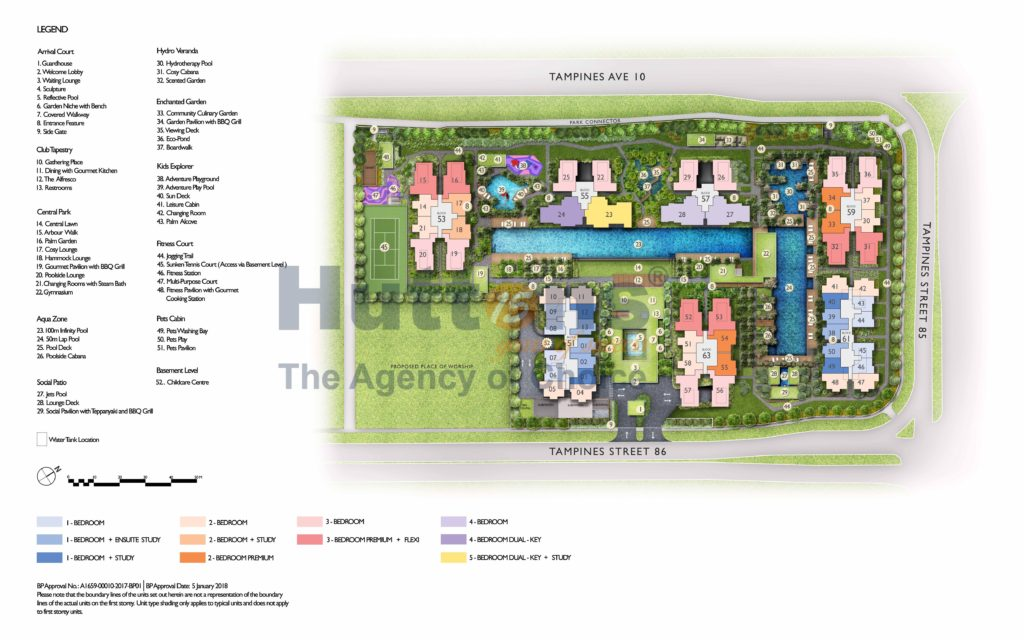 tapestry site plan