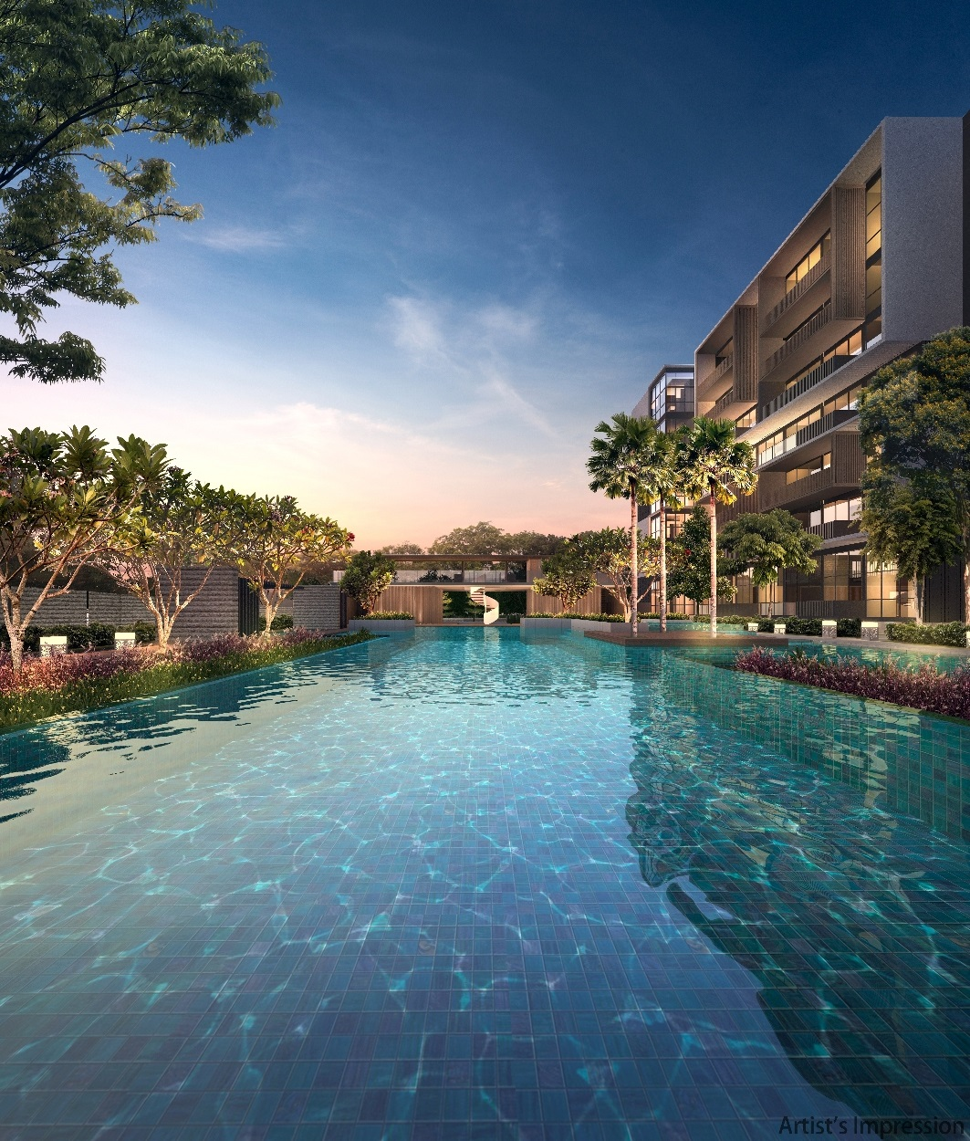 Kandis Residences Pool View