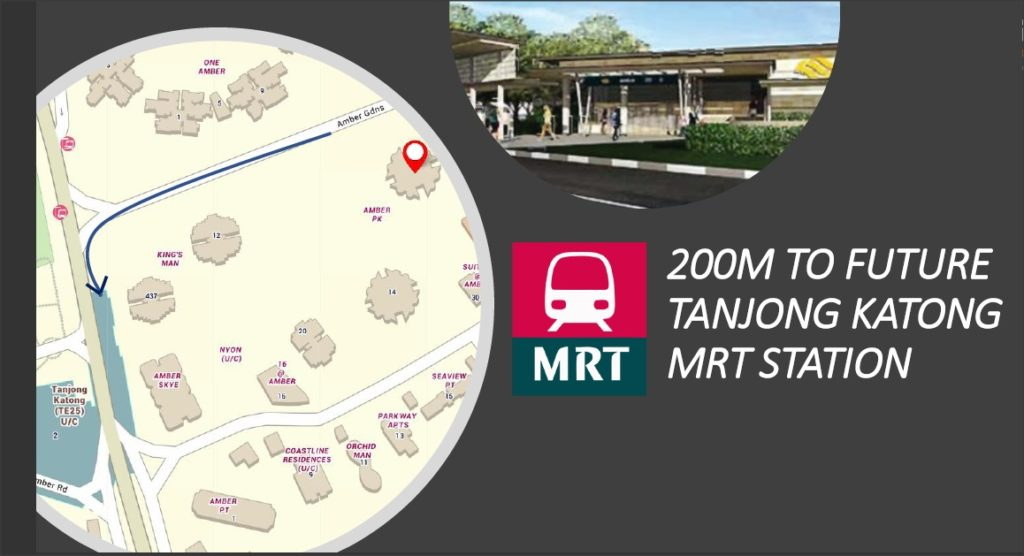 amber park 200m to mrt