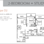 2bedroom plus study A