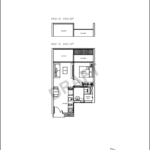 Kandis Residences 1 bedder A