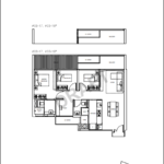 Kandis Residences 3 plus study floorplan