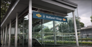 One Holland Village MRT