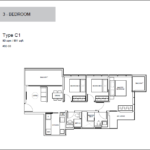 Wilshire Res 3 Bedder B