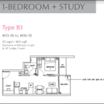 rezi 24 1 bedroom plus study